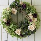 Wreath 9月サンプル作品のイメージ