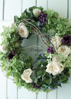 Wreath 9月サンプル作品(2)