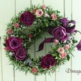 Christmas Wreath 2012     11月サンプル作品のイメージ