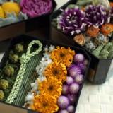 和飾り2012-お花のお節      12月サンプル作品          のイメージ