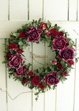 Spring Wreath        4月サンプル作品(1)