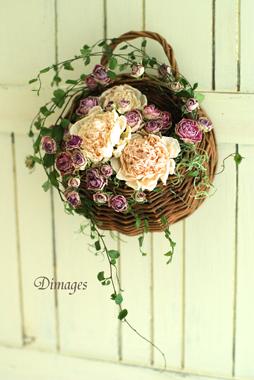 Hanging basket        6月サンプル作品(4)