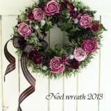 Christmas Wreath                       11月サンプル作品のイメージ