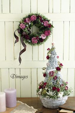 Christmas Wreath                       11月サンプル作品(3)