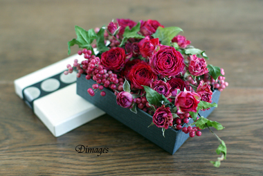 Valentine's box            1月サンプル作品(2)