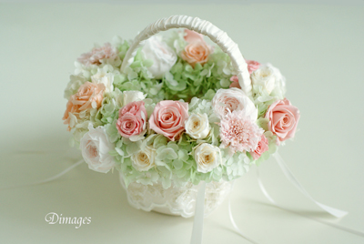 Wedding basket & 花冠(2)