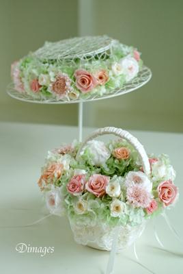 Wedding basket & 花冠(1)