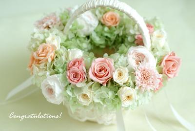 Wedding basket & 花冠(4)