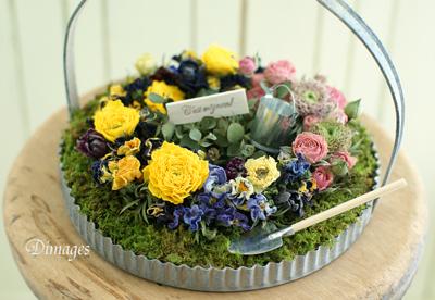 Miniature garden          3月サンプル作品(1)