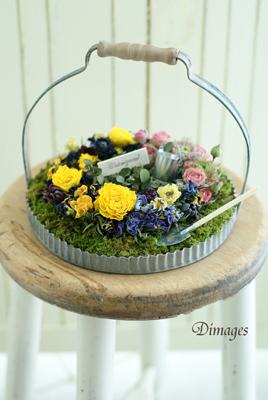 Miniature garden          3月サンプル作品(2)