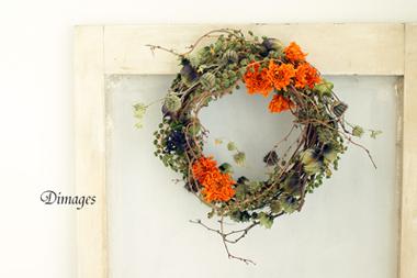 Autumn Wreath       9月サンプル作品(2)