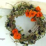 Autumn Wreath       9月サンプル作品のイメージ