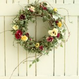 Early spring wreath       2月サンプル作品のイメージ