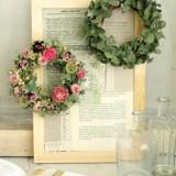 Mini wreath & Collage     4月サンプル作品のイメージ
