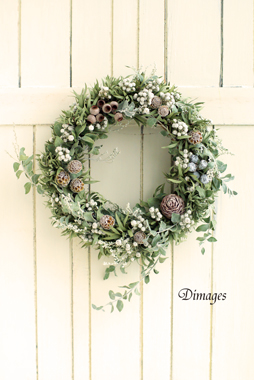 Christmas wreath 2015     11月サンプル作品(2)