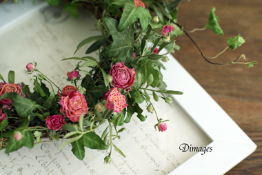 Spring wreath       4月サンプル作品(3)