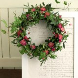 Spring wreath       4月サンプル作品のイメージ