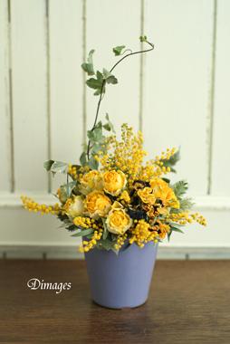 Pot arrangement       3月サンプル作品(3)