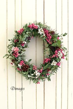Christmas Wreath 2016 11月サンプル作品(1)