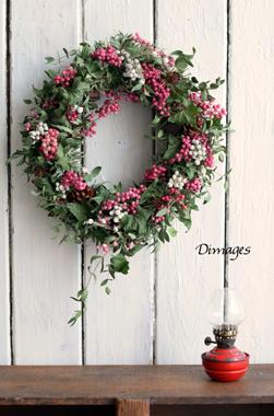 Christmas Wreath 2016 11月サンプル作品(5)