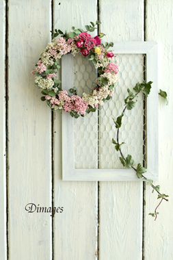 Wreath & Vine       4月サンプル作品(1)