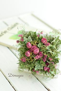 Botanical Frame      4月サンプル作品(1)