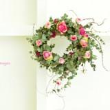 Spring Wreath      2月サンプル作品のイメージ