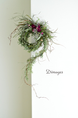 Noel wreath 2019    11月サンプル作品(1)