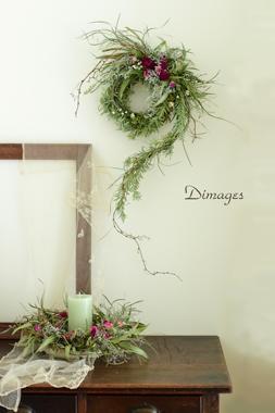 Noel wreath 2019    11月サンプル作品(2)