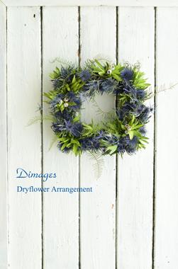 Square wreath      7月サンプル作品(1)